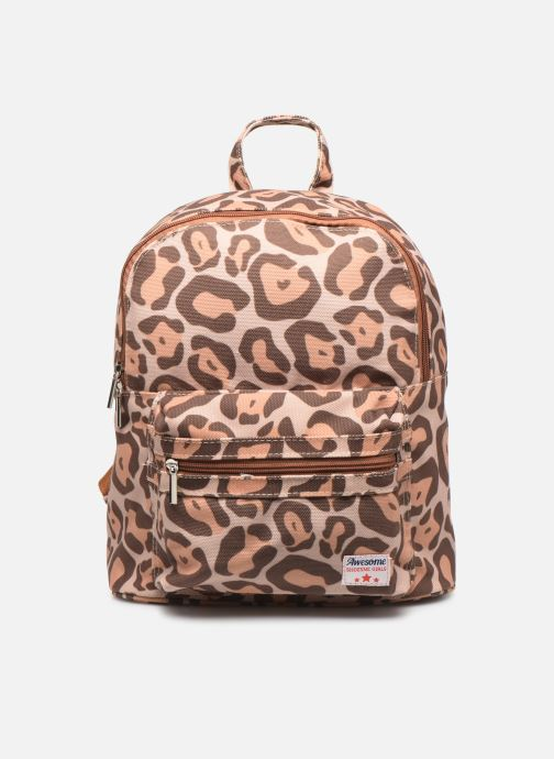 School bags Shoesme LEO BACKPACK Brown detailed view/ Pair view