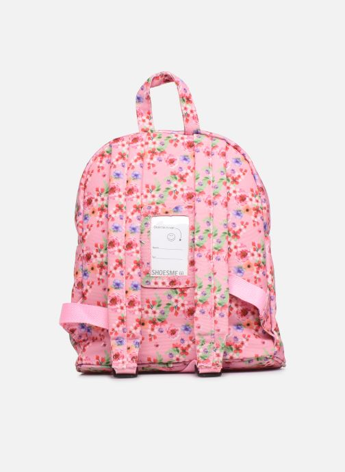 Schooltassen Shoesme PINK FLOWERS BACKPACK Roze voorkant
