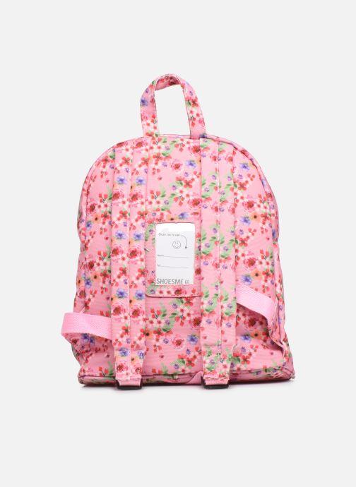 Schooltassen Shoesme PINK FLOWERS BACKPACK Roze voorkant