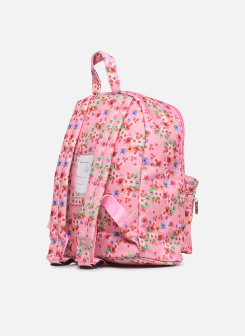 School bags Shoesme PINK FLOWERS BACKPACK Pink view from the right