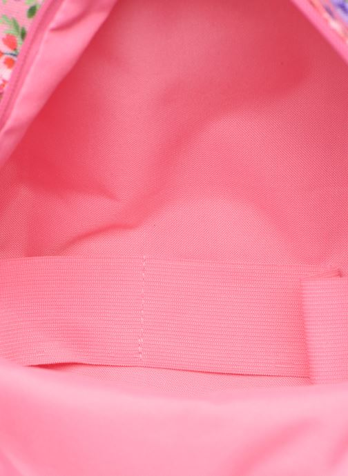 Schooltassen Shoesme PINK FLOWERS BACKPACK Roze achterkant