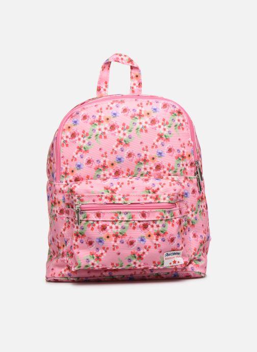 Schooltassen Shoesme PINK FLOWERS BACKPACK Roze detail
