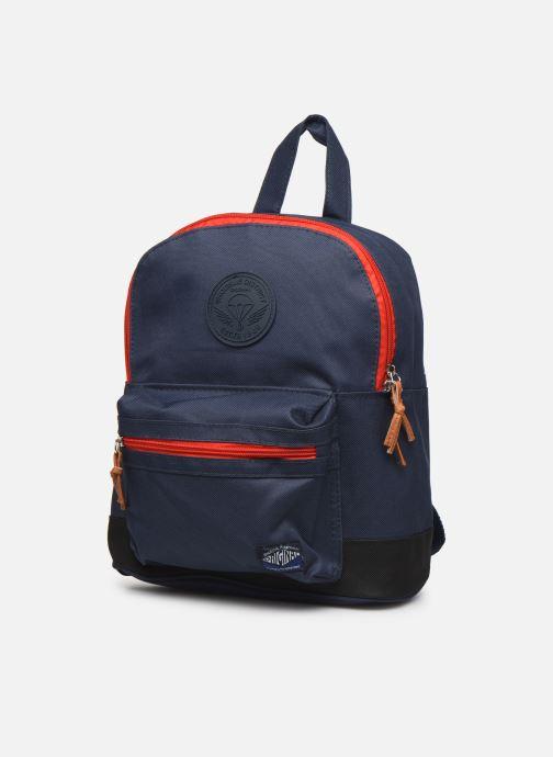 Schooltassen Shoesme BICOLORE BACKPACK Blauw model