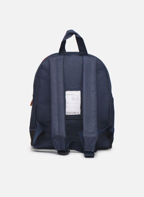Schooltassen Shoesme BICOLORE BACKPACK Blauw voorkant