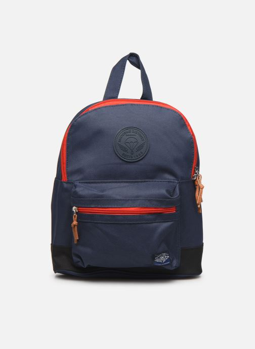 Schooltassen Shoesme BICOLORE BACKPACK Blauw detail