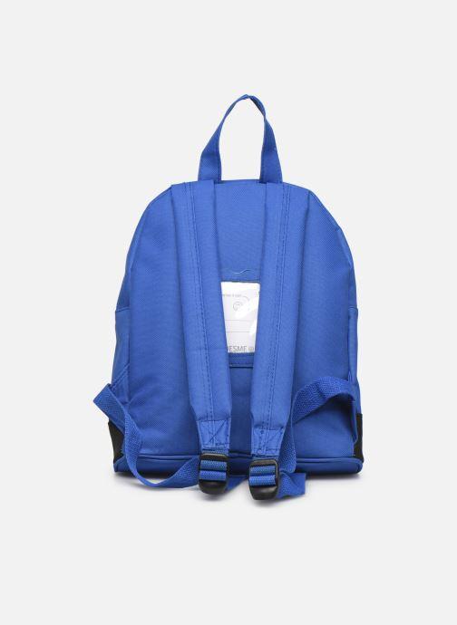 Per la scuola Shoesme BICOLORE BACKPACK Azzurro immagine frontale