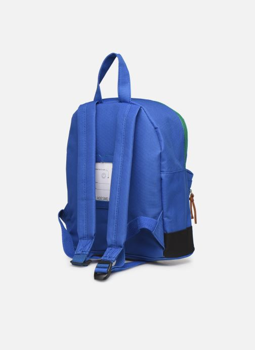 School bags Shoesme BICOLORE BACKPACK Blue view from the right