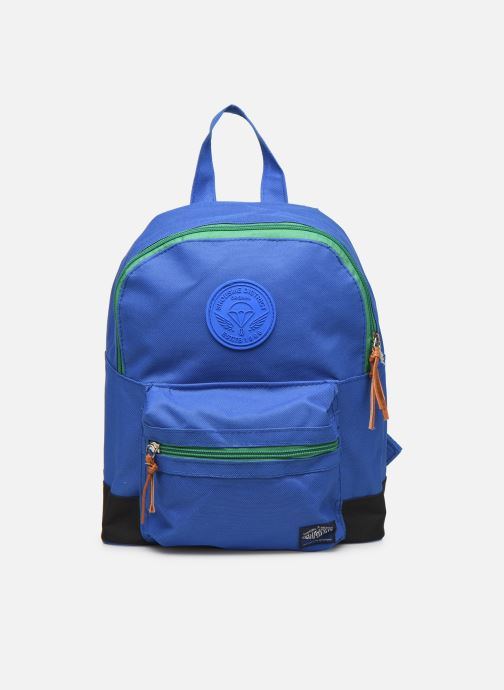 Schooltassen Shoesme BICOLORE BACKPACK Blauw detail