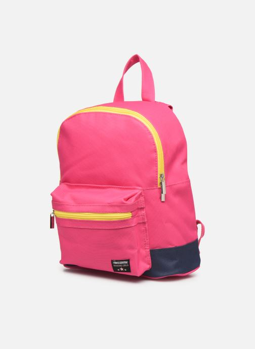 School bags Shoesme BICOLORE BACKPACK Pink model view