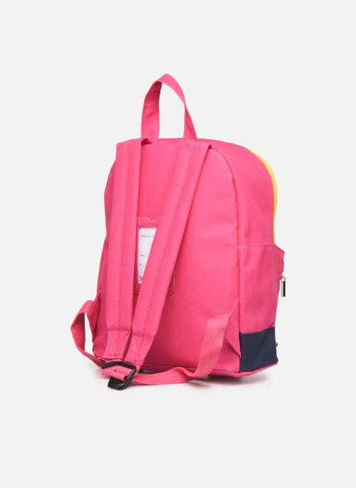 Schooltassen Shoesme BICOLORE BACKPACK Roze rechts