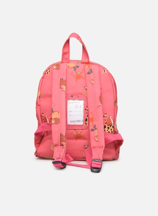 Scolaire Shoesme GIRAFE BACKPACK Rose vue face