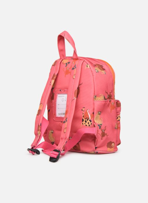 Scolaire Shoesme GIRAFE BACKPACK Rose vue droite