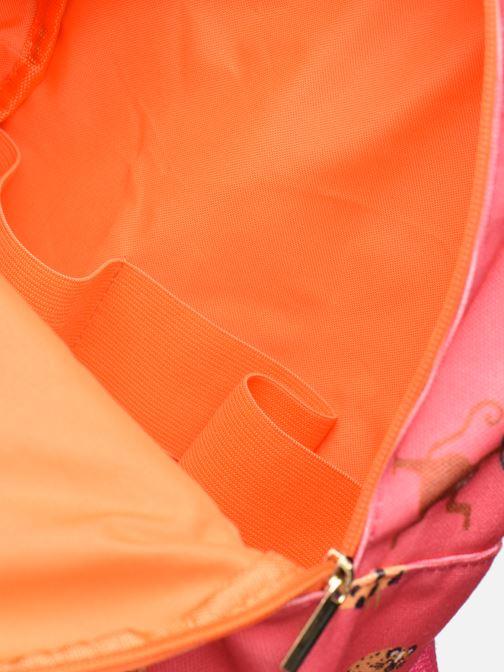 Schulzubehör Shoesme GIRAFE BACKPACK rosa ansicht von hinten
