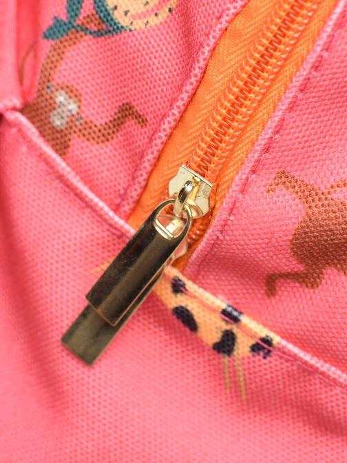 Schooltassen Shoesme GIRAFE BACKPACK Roze links