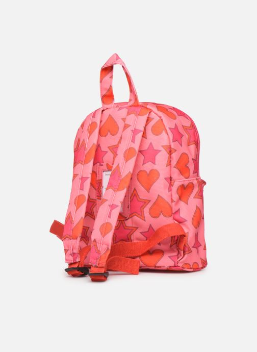 Bandoleras y Colegio Shoesme HEART &STARS BACKPACK Rosa vista lateral derecha