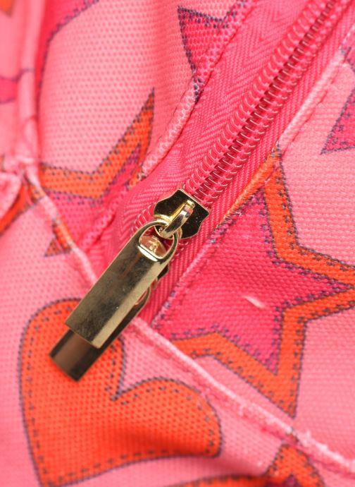 Schulzubehör Shoesme HEART &STARS BACKPACK rosa ansicht von links