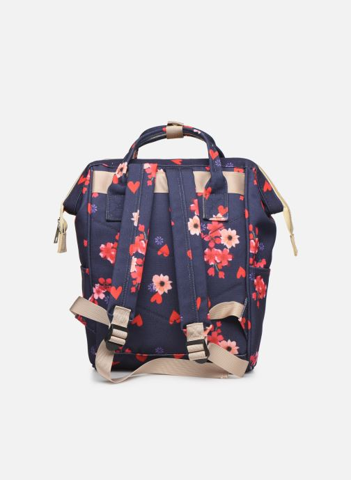 Scolaire Shoesme FLOWERS BACKPACK Bleu vue face