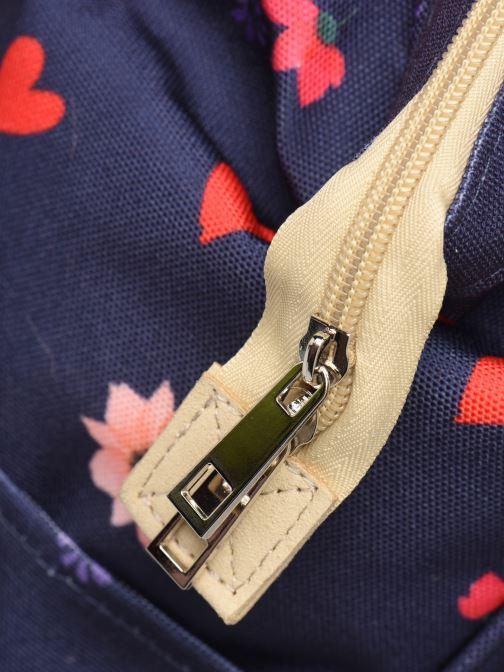 Schooltassen Shoesme FLOWERS BACKPACK Blauw links