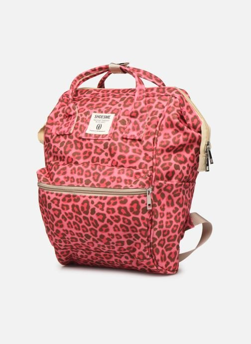 Scolaire Shoesme CHEETAH BACKPACK Rose vue portées chaussures
