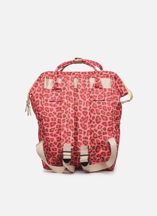 Scolaire Shoesme CHEETAH BACKPACK Rose vue face