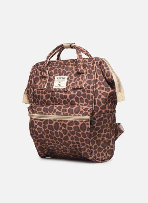 School bags Shoesme CHEETAH BACKPACK Brown model view