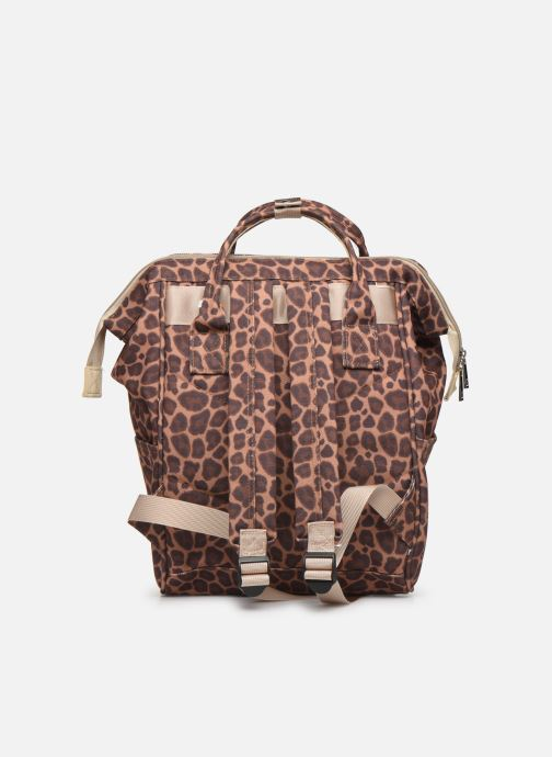 School bags Shoesme CHEETAH BACKPACK Brown front view