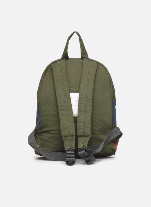 Scolaire Shoesme TRICOLORE BACKPACK Vert vue face