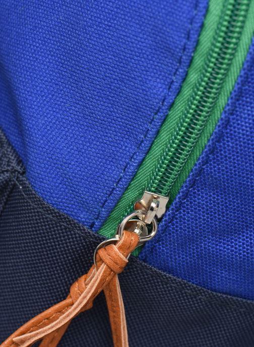 Schulzubehör Shoesme TRICOLORE BACKPACK blau ansicht von links