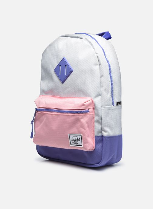 Per la scuola Herschel Heritage Kids Azzurro modello indossato