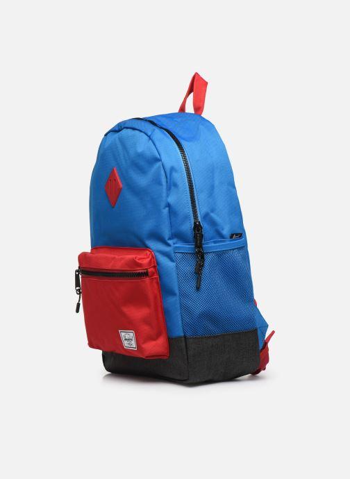 Per la scuola Herschel Heritage Youth XL Azzurro modello indossato