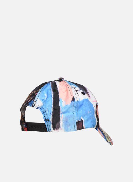 Cappellino Herschel VOYAGE MOSBY CURVE X BASQUIAT Multicolore immagine frontale
