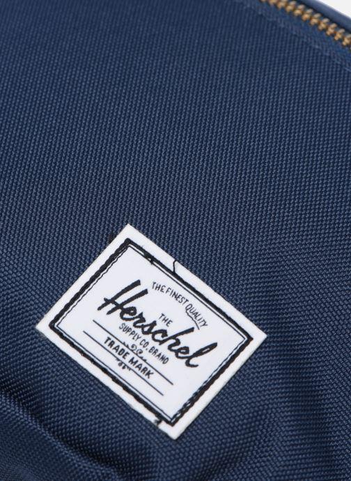Handtaschen Herschel FIFTEEN blau ansicht von links