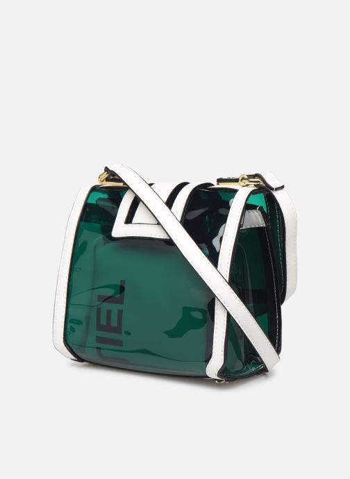 Handtaschen Essentiel Antwerp Taberna small bag grün ansicht von rechts