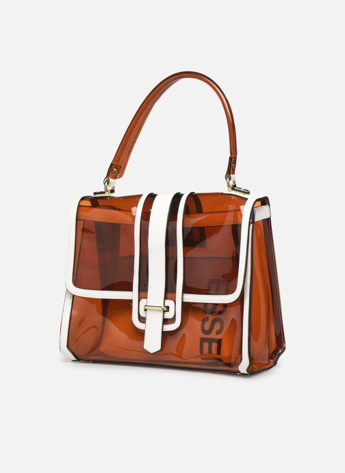 Handtassen Essentiel Antwerp Tumbler large shoulderbag Bruin model