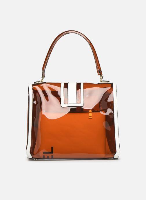 Handtassen Essentiel Antwerp Tumbler large shoulderbag Bruin voorkant