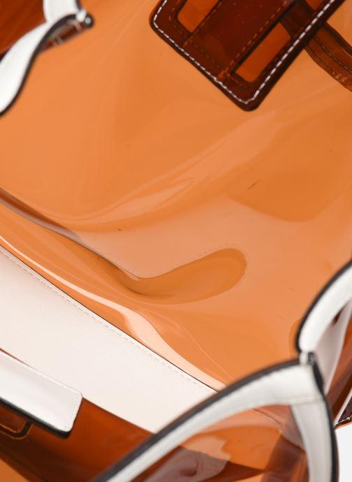 Handtassen Essentiel Antwerp Tumbler large shoulderbag Bruin achterkant