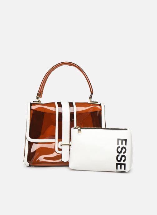 Handtassen Essentiel Antwerp Tumbler large shoulderbag Bruin links