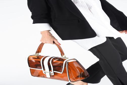 Handtassen Essentiel Antwerp Tumbler large shoulderbag Bruin onder