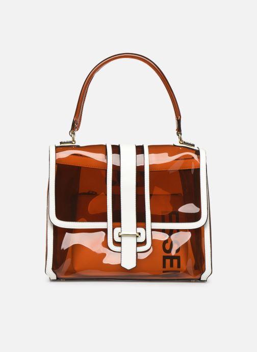 Handtassen Essentiel Antwerp Tumbler large shoulderbag Bruin detail