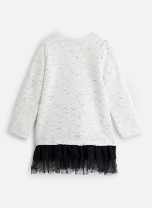 Vêtements 3 Pommes Robe 3P30082 Blanc vue bas / vue portée sac