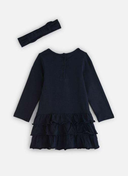 Vêtements 3 Pommes Robe 3P30002 Bleu vue bas / vue portée sac