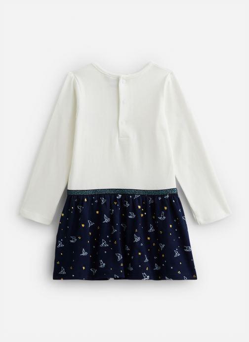 Vêtements 3 Pommes Robe 3P30052 Blanc vue bas / vue portée sac