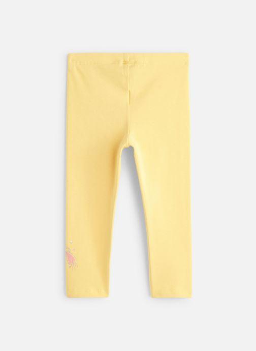 Vêtements 3 Pommes Legging 3P24002 Jaune vue bas / vue portée sac