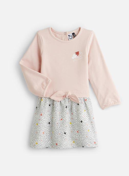 Vêtements 3 Pommes Robe 3P30212 Rose vue détail/paire