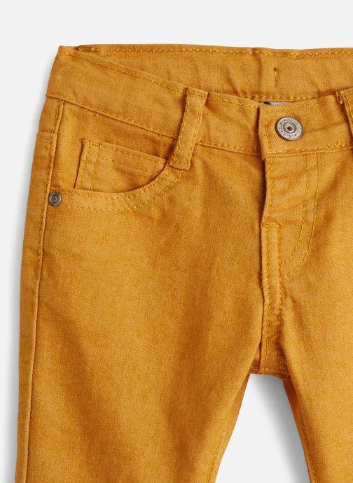 Vêtements 3 Pommes Pantalon 3P22013 Marron vue portées chaussures