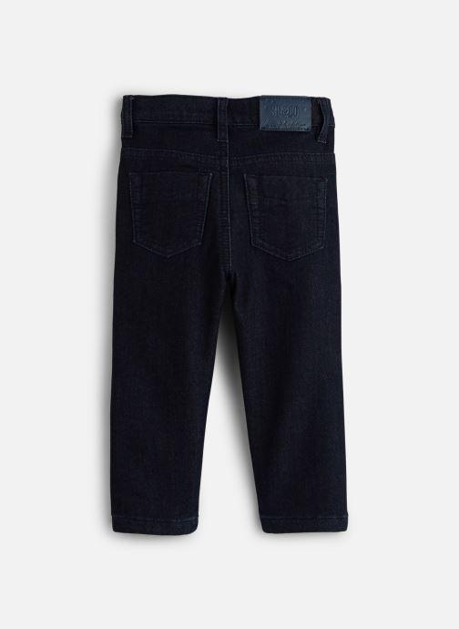 Vêtements 3 Pommes Pantalon 3P22003 Bleu vue bas / vue portée sac