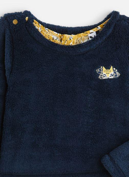 Vêtements 3 Pommes Ensemble 2 en 1 Robe et Pull Polaire Jaune vue portées chaussures