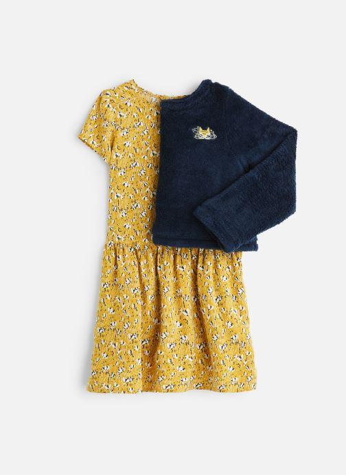 Vêtements 3 Pommes Ensemble 2 en 1 Robe et Pull Polaire Jaune vue détail/paire