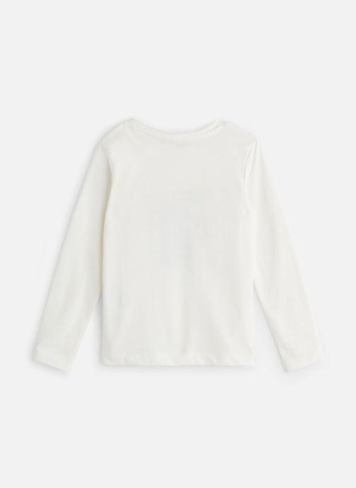 Vêtements 3 Pommes T-Shirt Ecureuil Blanc Cassé Blanc vue bas / vue portée sac