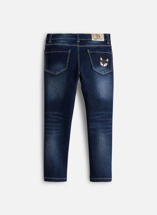 Vêtements 3 Pommes Jean 3P22054 Bleu vue bas / vue portée sac